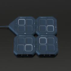 Modpods - Controller / Drumpad / Sampler, Andrew Walla | #design #modular #midi