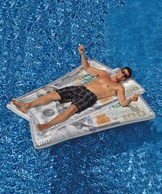 Money Pile Pool Float