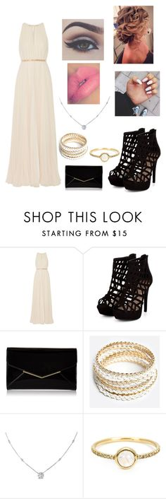 """""""Untitled #42"""" by lauriemiles ❤ liked on Polyvore featuring Halston Heritage, Furla, ZooShoo, Ice, Irene Neuwirth, Bellezza, women's clothing, women, female and woman"""