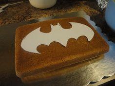 Super Simple Batman Cake with Free Printable Templates Batman