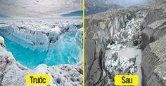Hơn trăm năm mới có một lần sông băng ở Canada đột ngột đổi dòng và biến mất chỉ trong 4 ngày