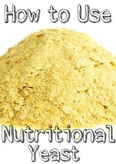 What is nutritional yeast? Here's everything you ever needed to know about t… What is nutritional yeast? Here's everything you ever needed to know about this humble powder, plus six recipes to get you hooked on nooch. Nutrition Education, Proper Nutrition, Nutrition Plans, Nutrition Tips, Milk Nutrition, Nutrition Tracker, Nutrition Month, Complete Nutrition, Nutrition Activities