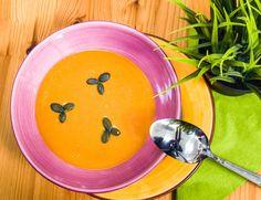 Vegán sütőtök krémleves   Kertkonyha - Vegetáriánus receptek képekkel