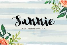 #Free #Download Sannie Typeface by Area Type Studio