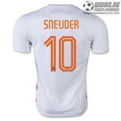 Away maglia SNEIJDER Olanda 2015