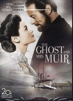 """A look at Gull Cottage, a charming stone house built for the classic film """"The Ghost and Mrs. Muir"""" starring Gene Tierney and Rex Harrison. Cartoon Network Adventure Time, Adventure Time Anime, The Nanny Diaries, Far Side Comics, Old Movies, Ghost Movies, Fox Studios, Gene Tierney, Posters"""