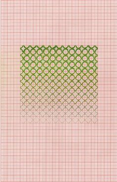 Drawingsby Kate Russo Colour pencils on graph paper | Two Serious Ladies