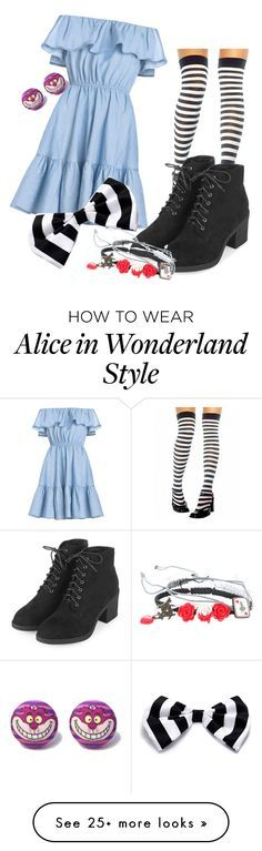 """Alice in Wonderland"" by heather-howell-1 on Polyvore featuring Topshop and Disney"
