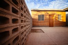Rammed Earth Social Housing Project in Baja, Mexico. #architecture #cabo #cabosanlucas #loscabos #rammedearth