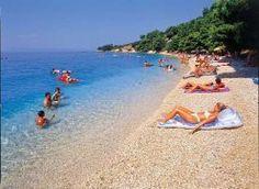 Makarska, beach