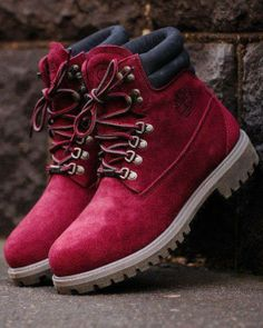 amazing dark pink shoes ♥