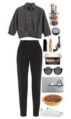 """""""Unbenannt #2524"""" by avonearth ❤ liked on Polyvore featuring Chicnova Fashion, Proenza Schouler, adidas Originals, Clarins, Chanel and Revolver"""