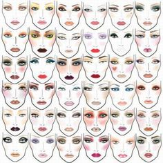 Different makeup looks