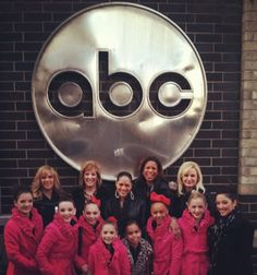 moms and girls and gianna excluding Paige and Kelly on set of The View