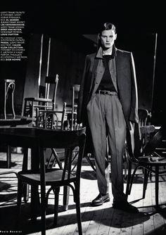Vogue Russia February 2013  Model: Saskia de Brauw  Photographer: Paolo Roversi