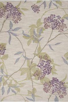 Rosalie Area Rug II. A beautiful rug for a master bedroom.