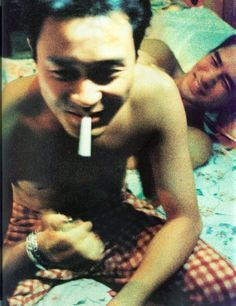 Leslie Cheung 張國榮 and Tony Leung in 春光乍洩 Happy Together, Wong Kar Wai, 1997