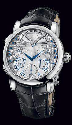6900-125 - extraño - excepcional - Bienvenido a la colección de Ulysse Nardin - Ulysse Nardin - Le Locle - Suisse - Suiza fabricante de relojes mecánicos