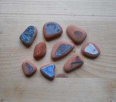 Terracotta Sea pottery Mix Fantasia  di lepropostedimari su Etsy