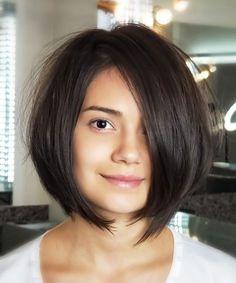 Hair Care Tips and Tricks Layered Bob Hairstyles, Short Bob Haircuts, Cute Hairstyles For Short Hair, Short Hair Cuts, New Hair Do, Love Hair, Medium Hair Styles, Short Hair Styles, Hair Color And Cut