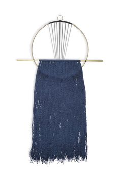 Attalie Dexter Sunrise Circle Fringe Wall Hanging | Young & Able