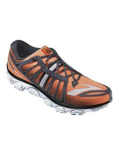 Another great find on #zulily! Shocking Orange & Anthracite PureFlow 2 Running Shoe - Men by Brooks #zulilyfinds