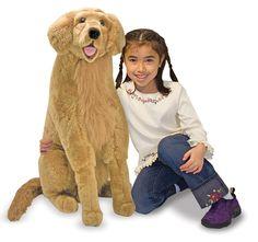 Golden Retriever Plush. Available on www.buyerxpo.com