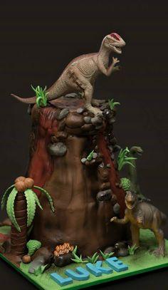 Jurassic World Cake Jurassic Park Pinterest Parks