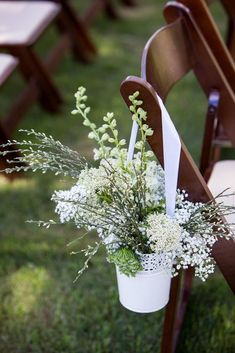 IKEA wedding decor hacks - Skurar plant pot. Chances are you've probably already seen this pretty lace pot at a wedding. It's cheap, elegant and looks amazing stuffed with gypsophila – what's not to love?! #weddingdecor #decor #decorideas #weddingdecorations #ikea #ikeahack #decorhack #wedding #weddingphotography #weddingideas #wedding #weddingflowers