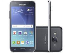 Smartphone Samsung Galaxy J5 Duos 16GB Preto Dual Chip 4G Câm. 13MP + Selfie 5MP…