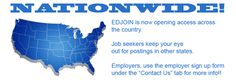 EDJOIN goes Nationwide! - great way to find art teaching jobs