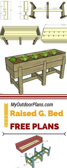 Learn how to build a raised garden bed so you can crate your own garden on your ., - Learn how to build a raised garden bed so you can crate your own garden on your …, # - Raised Garden Bed Plans, Building A Raised Garden, Raised Beds, Raised Garden Planters, Patio Plans, Balcony Gardening, Raised Herb Garden, Raised Planter Beds, Raised Flower Beds