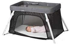 we take this crib everywhere! It is so easy to set up and take down and it packs light too.