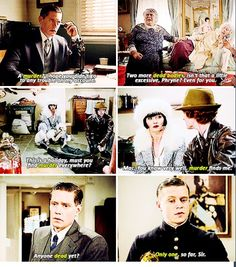 If Phryne goes anywhere, someone will be murdered. - Miss Fisher's Murder Mysteries (Australia)