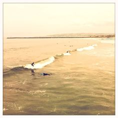 Surfing at Ocean Beach, CA
