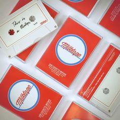 Milktape - 80's Style Cassette Tape USB