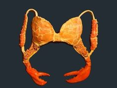 There's also a disgusting crustacean bra with claw clasps. | 20 Of The Craziest Bras Ever Created