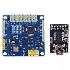 Top Elecs CRIUS MultiWii MWC SE v2.5 Standard Edition Vuelo Controlador Mini rack