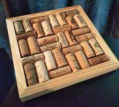 Items similar to Wine Cork Trivet 8 x 8 Wine Art Wine Gift on Etsy Wine Cork Trivet, Wine Cork Art, Wine Cork Crafts, Wine Art, Wine Bottle Crafts, Wine Corks, Wood Crafts, Wine Cork Ornaments, Wine Cork Projects