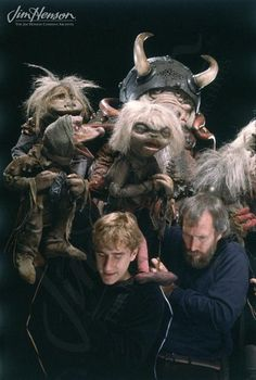 Brian Henson and Jim Henson on the set of Labyrinth. The Jim Henson Company Jim Henson Labyrinth, Labyrinth Movie, Labyrinth 1986, Laika Studios, Science Fiction, Fraggle Rock, Fantasy Films, Red Books, Fantasy Movies