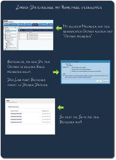 So bindest Du Zimbra-Dateien in Deine Homepage ein!