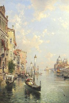 17 Best Franz Richard Unterberger~Paintings images in 2012