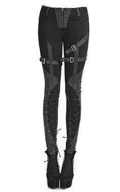 awesome Punk Rave Gothic Wortex Trousers by http://www.polyvorebydana.us/gothic-fashion/punk-rave-gothic-wortex-trousers/