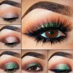 Very pretty for us brown eyed girls