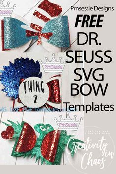 Diy Leather Bows, Leather Craft, Diy Tutu, Grinch, Free Svg, Disney Hair Bows, Hair Bow Tutorial, Flower Tutorial, Bow Template