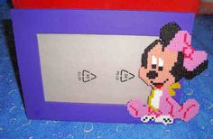 Marco bebé Minnie hama - Pixulandia