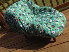 Upcycled Pet Bed for Small Dogs and Cats Made by LavishLoungers, $150.00