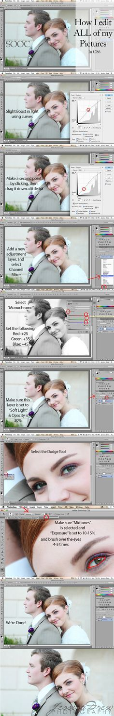 portrait editing in photoshop