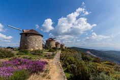 Moinhos de Vento (Windmills) in Penacova (Atalhada), Portugal -- photo by Fábio Martins