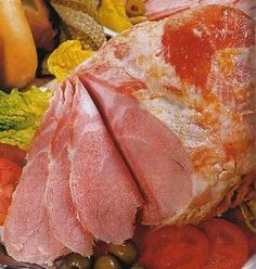 jamón cocido - paso a paso Deli Food, Food N, Good Food, Food And Drink, Salty Foods, Chorizo, Cooking Recipes, Healthy Recipes, Smoking Meat